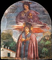 St. Julian and the Redeemer, c.1453, castagno