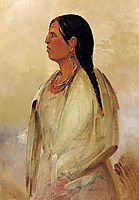 A Choctaw Woman, 1834, catlin