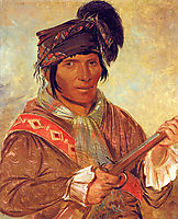 Co-ee-há-jo, a Seminole Chief, 1837, catlin