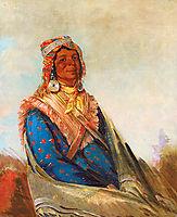 Hól-te-mál-te-téz-te-néek-ee, Sam Perryman (Creek Chief), 1834, catlin
