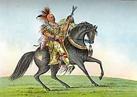 Kee-o-kuk (The Running Fox), 1839, catlin