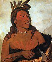 Little Bear, Hunkpapa Brave, 1832, catlin