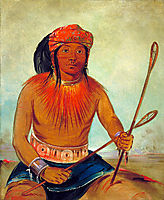 Tul-lock-chísh-ko, Drinks the Juice of the Stone (Choctaw), 1834, catlin