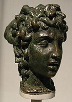 Modellino per la tesa di Medusa, 1550, cellini