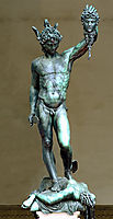 Perseus with the Head of Medusa, 1545, cellini