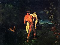 The Abduction, 1867, cezanne
