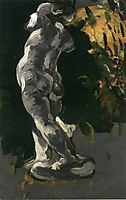Amour in Plaster , c.1867, cezanne