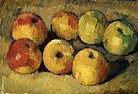 Apples, 1878, cezanne