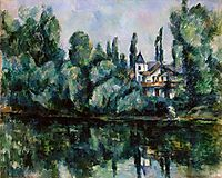 The Banks of the Marne , 1888, cezanne