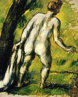 Bather from the Back, 1878, cezanne