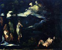 Bathers, 1870, cezanne