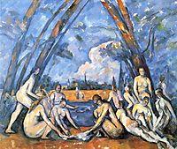 Bathers, 1906, cezanne