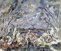 Bathers , c.1904, cezanne