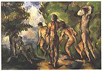 Bathers at Rest, c.1904, cezanne