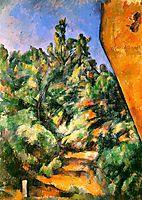Bibemus. The Red Rock, 1897, cezanne