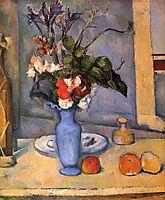 The Blue Vase , c.1887, cezanne