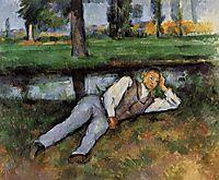Boy Resting, 1890, cezanne