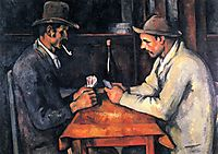 The Card Players , 1893, cezanne