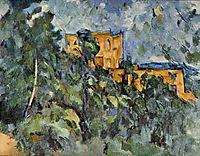 Chateau Noir, c.1904, cezanne