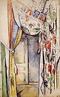Curtains, 1885, cezanne