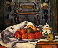 Dish of Apples, 1879, cezanne