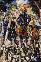 Don Quixote, View from the Back, c.1875, cezanne
