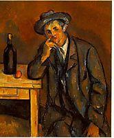 The Drinker , 1891, cezanne