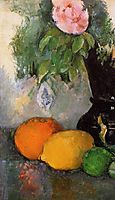 Flowers and Fruit, c.1880, cezanne