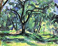 Forest, c.1890, cezanne