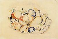Fruits, c.1885, cezanne