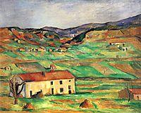 Gardanne, 1890, cezanne