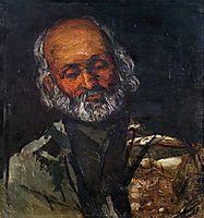 Head of an Old Man, c.1866, cezanne