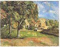 Horse-chestnut-trees in Jas de Bouffan, cezanne