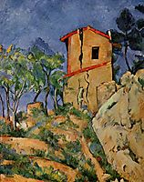The House with Cracked Walls, c.1894, cezanne