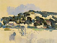 Houses on the Hill, c.1903, cezanne