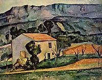 Houses in Provence, near Gardanne, 1886, cezanne