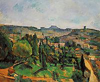 Ile de France Landscape, 1880, cezanne