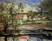In the Oise Valley  , 1874, cezanne