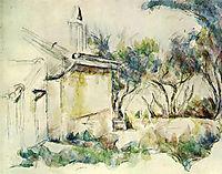 Jourdan-s Cottage , 1906, cezanne