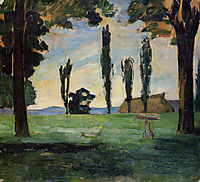 Landscape, 1866, cezanne