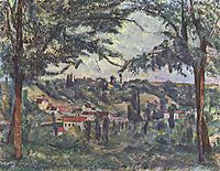 Landscape , c.1882, cezanne