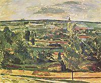 Landscape of the Jas de Bouffan, 1885, cezanne