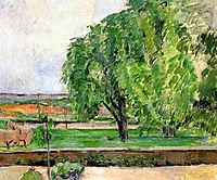 Landscape at the Jas de Bouffin, 1876, cezanne