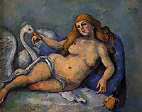 Leda and the Swan , c.1882, cezanne