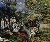 Legendary Scene, c.1878, cezanne
