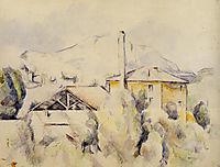 The Lime Kiln, c.1894, cezanne
