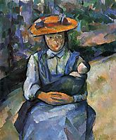 Little Girl with a Doll, 1904, cezanne