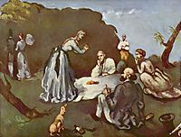 Luncheon on the Grass, 1869, cezanne