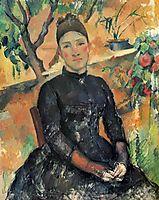 Madame Cezanne, 1891-1892, cezanne
