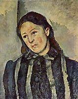 Madame Cezanne with Unbound Hair, c.1887, cezanne